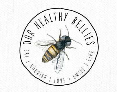 Our Healthy Bellies Logo Design