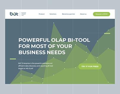 BAT - business analysis tool. Site / Logo