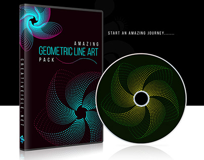Geometric LINE ART Pack