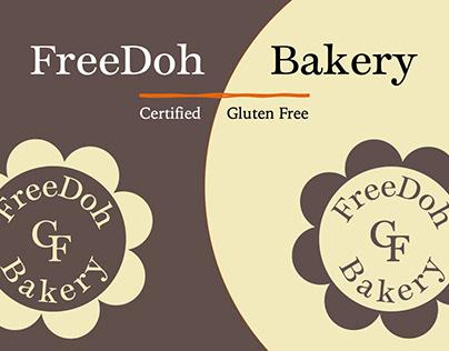 FreeDoh Bakery Branding