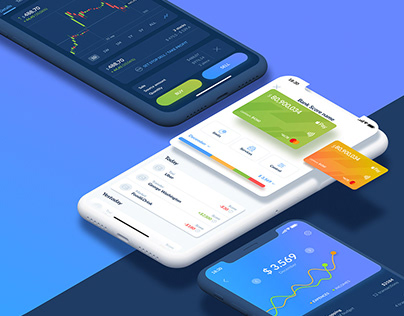 Finance app UI Kit
