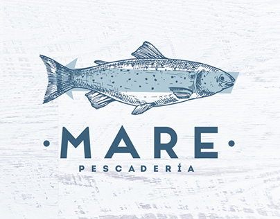 MARE - Brand Identity for Seafood Restaurant