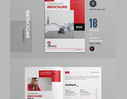 18 Pages Brochure Design