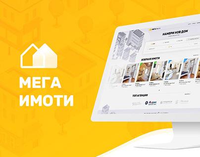 MegaImoti - UI/UX