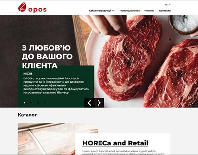 Opos site and logo