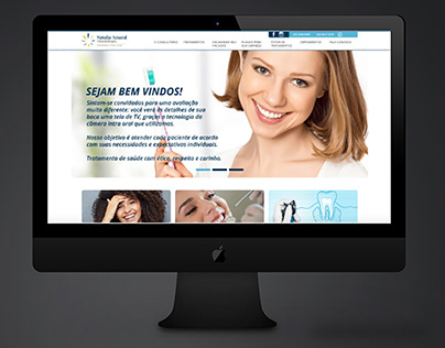 Site - Natalia Amaral Odontologia - WordPress