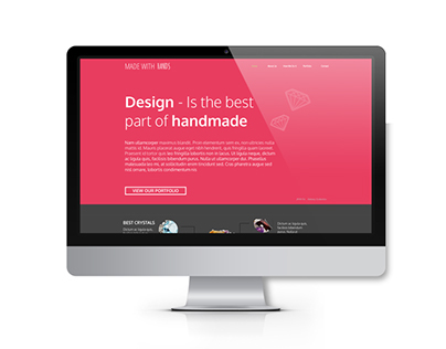 MADE WITH HANDS - WebDesign