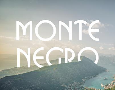 Travel agency's website design — Montenegro