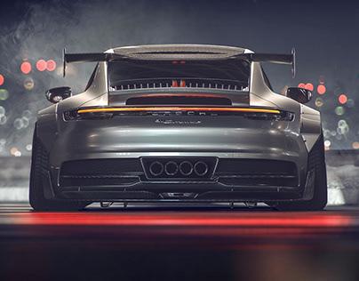new Porsche 911 GT