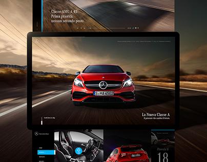 Mercedes-Benz A-Class | Web & UI/UX Design