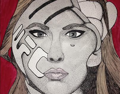Ronda Rousey Surreal Portrait