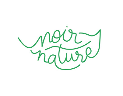 Wine label - Noir Nature - Alsace