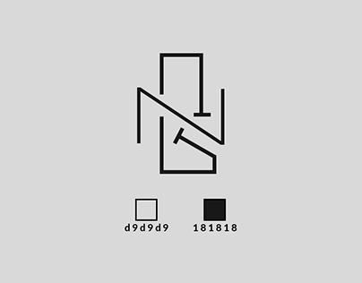 NevoyG 'NG' Monogram Logo