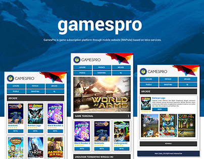 MOBILE WEBSITE - GamesPro