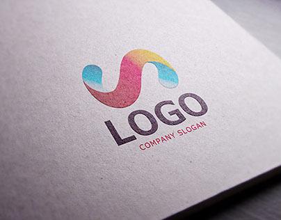 Realistic Paper Logo MockUp
