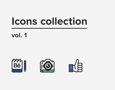 Icons collection vol. 1