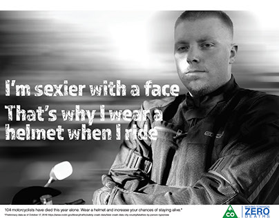 Motorcycle Safety Ad Campaign