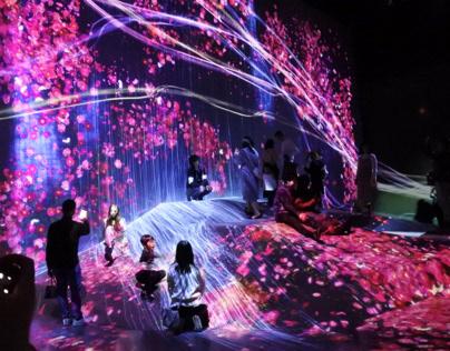 Digital Art Museum, Tokyo.