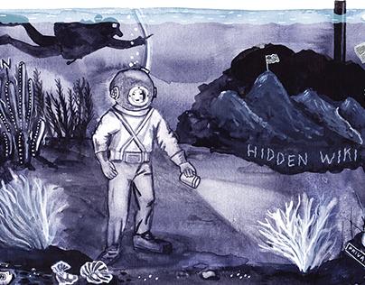 Darknet Illustration
