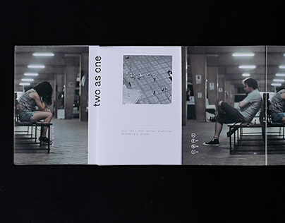 two as one — Photographic zine
