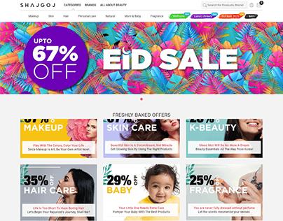Shajgoj - Ecommerce Website Based in Bangladesh