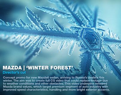 MAZDA | WINTER FOREST