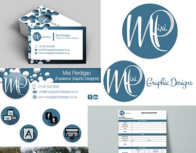 Mixi P Graphic Design - Corporate Identity