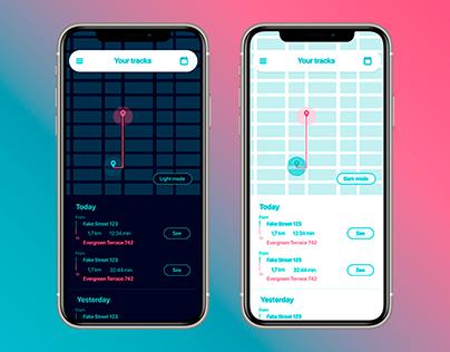 Dummy Tracking App