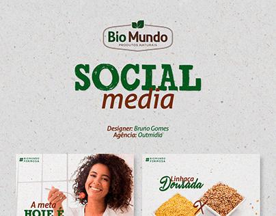 Social Media - Bio Mundo