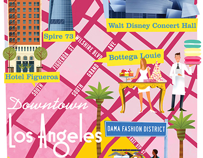 ILLUSTRATED CITY MAPS 5 I VOYEUR MAGAZINE