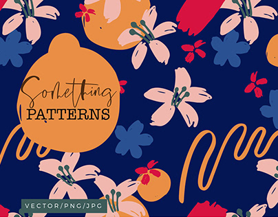 Something - Abstract Floral Patterns