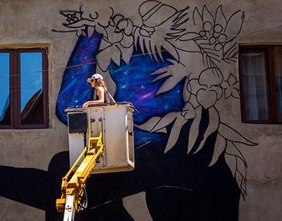 Cosmic Girl- Fabrikaffiti 2017/ Urban Art Festival
