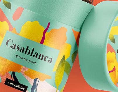 Packaging Alanda's Tea