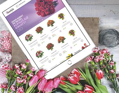 Kwiatylla - On-line Store, E-commerce