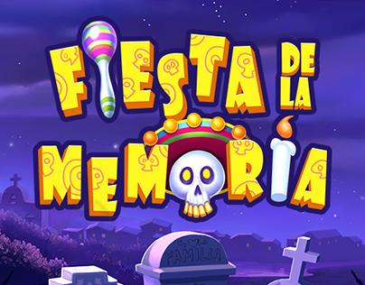Fiesta de la Memoria - Playtech - 2016