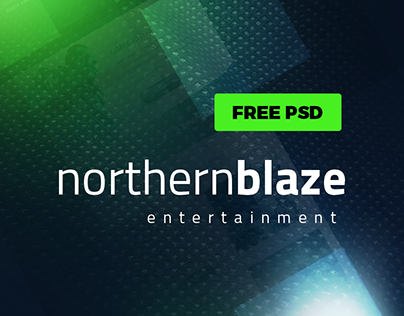Northern Blaze - Free Gaming Template