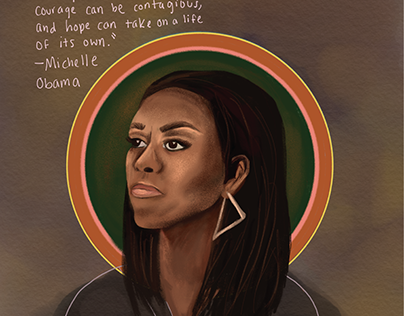 Michelle Obama Sketch