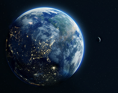 Earth Matte Painting
