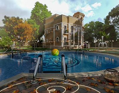 New Exterior Villa