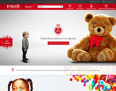 FAO Schwarz Website