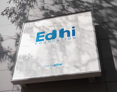 Edhi Foundation | Brand Identity | Ad Campaign