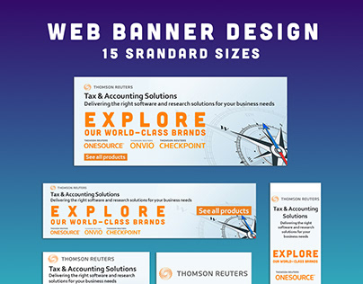 Web marketing / advertising banners