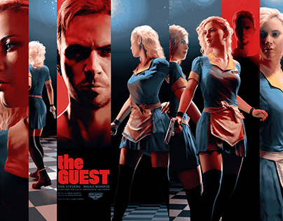 The Guest | Screenprint Poster