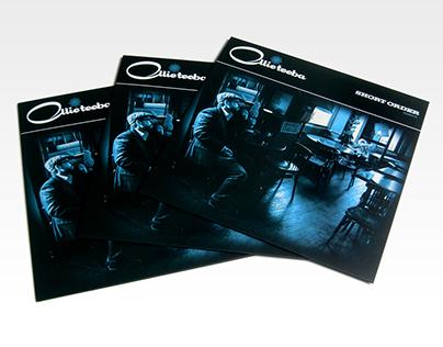 Ollie Teeba 'Short Order' LP & one sheet.