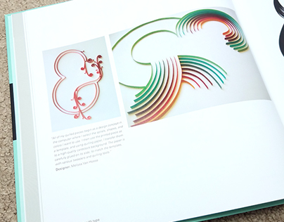 Quilling Designs featured in Playing With Type
