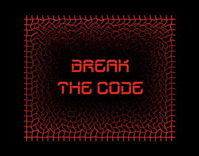 BREAK THE CODE TYPEFACE
