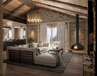 Chalet in Mageve(France)
