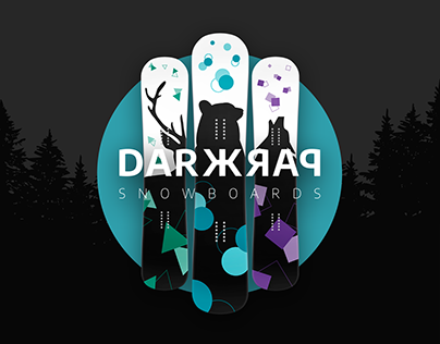 DARKPARK ❆ snowboard brand short concept