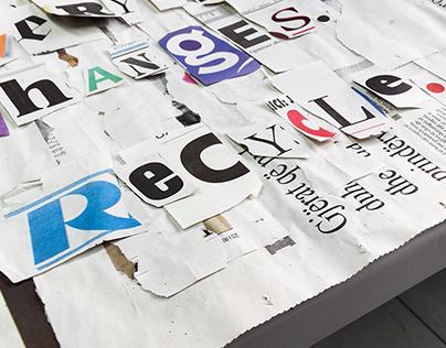 Recycle. [DOiT Gold Award]