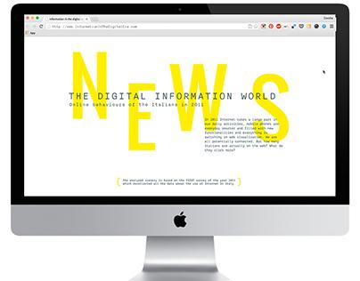 Italians' online behaviors #infonews